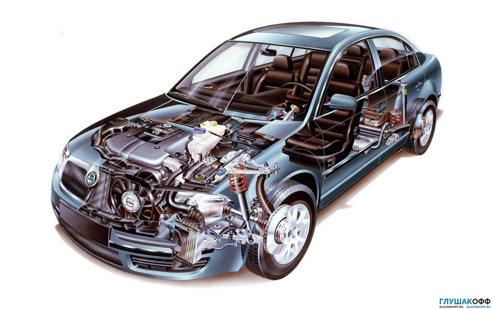 техническое обслуживание и ремонт подвески автомобиля